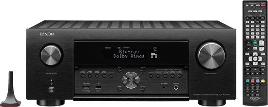 Denon AVR-X 4500H - 9.2 receiver - zwart