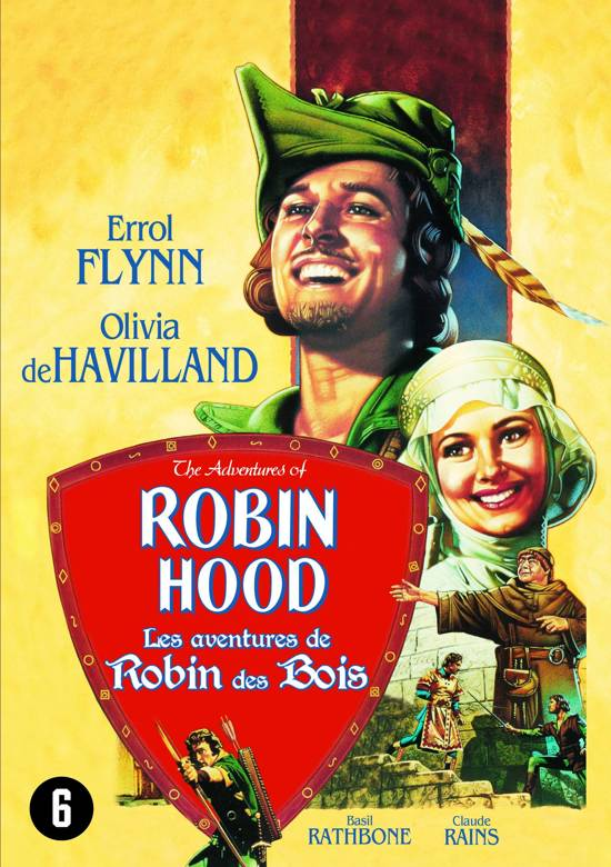 Cover van de film 'Adventures Of Robin Hood'