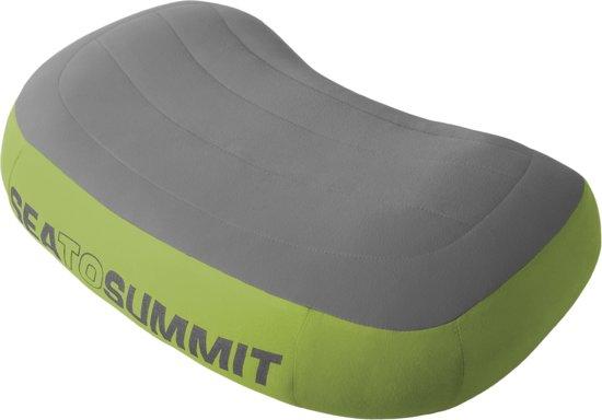 Sea to Summit Aeros Premium Pillow - Hoofdkussen - Large - Groen