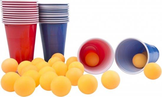 Afbeelding van het spel Beer Pong spel 48 delig