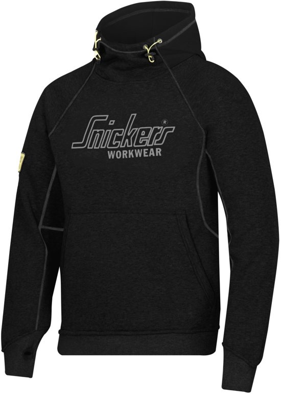Snickers Workwear Veiligheidskleding Sweatshirt Hoodie Zwart  2815-0400 L