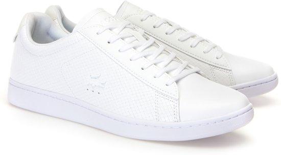 Sneakers 41 Heren Sneaker Maat Carnaby Lacoste Wit Mannen pwq4AUnx
