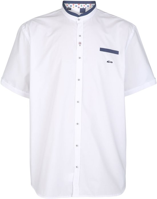 Overhemd Ostra 5xl Maatdario Wit Beltran Korte Umow Grote iwkuTXPOZ