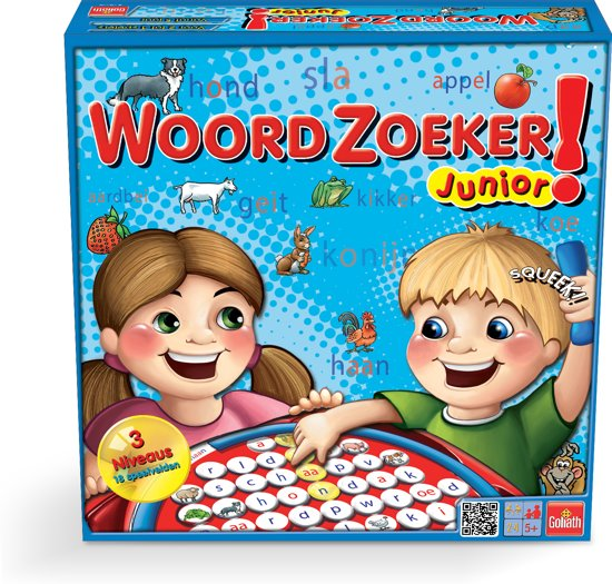 Woordzoeker - Junior - Kinderspel - Goliath