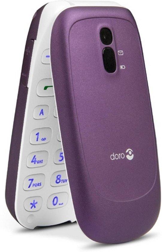 Téléphone GSM DORO PHONEEASY 607 VIOLET