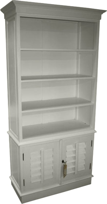 hsm collection boekenkast riviera white wash