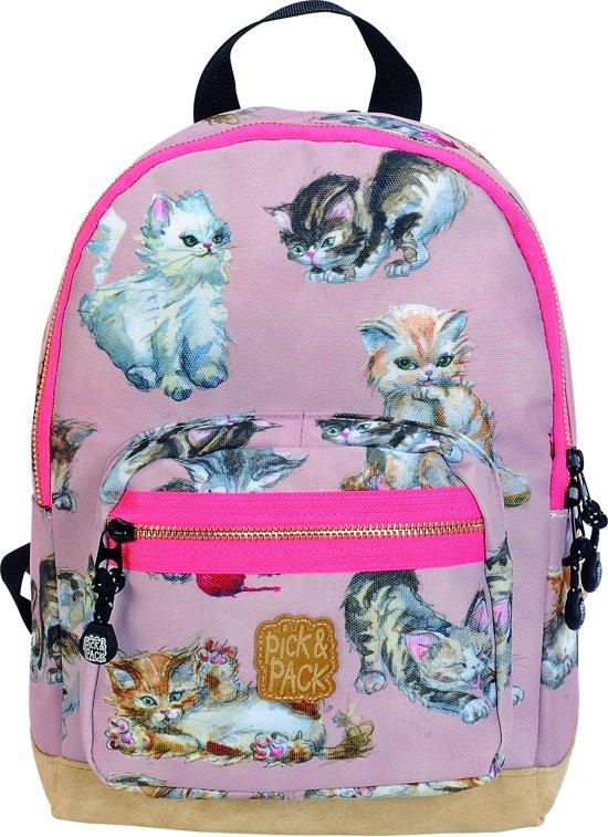 170b56f146b bol.com   Pick & Pack Kittens Rugzak - Dusty Pink