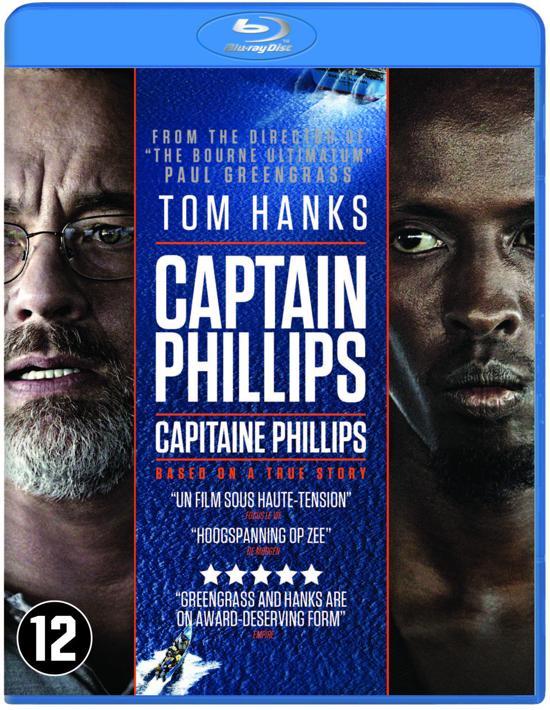 DVD cover van Captain Phillips