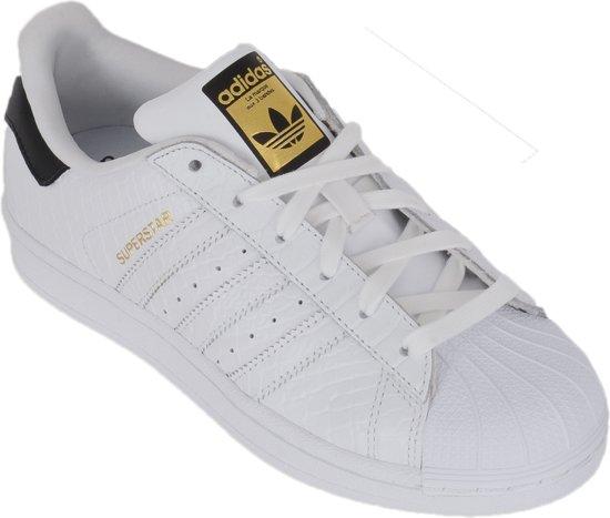 brand new e2db8 d998d adidas superstar 2 maat 38 5 adidas superstar dames zwart wit maat 38