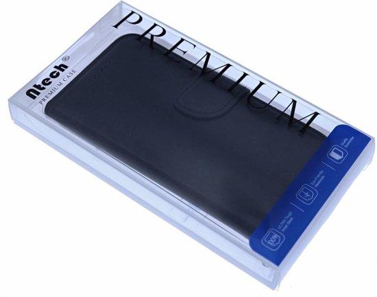 f4a1d6a6707 bol.com | Samsung Galaxy S8 Booktype / Portemonnee lederen hoesje zwart