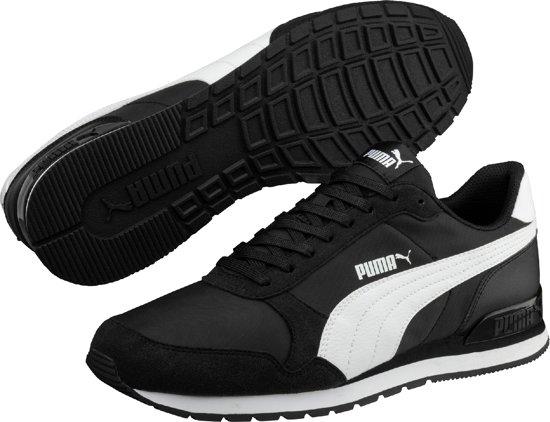 Unisex Sneakers Maat White St 40 Puma Black V2 Runner Nl wXRxn4Uq