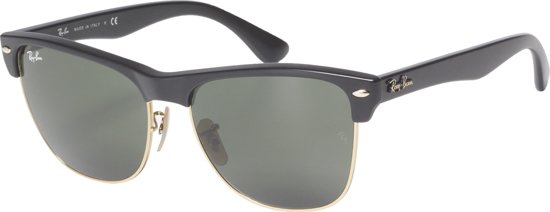 7f8b367285 Ray-Ban Clubmaster Oversized RB4175 877 - Zonnebril - Zwart Groen - 57 mm