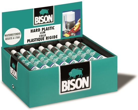 Bison Hard Plastic Lijm - 25 ml