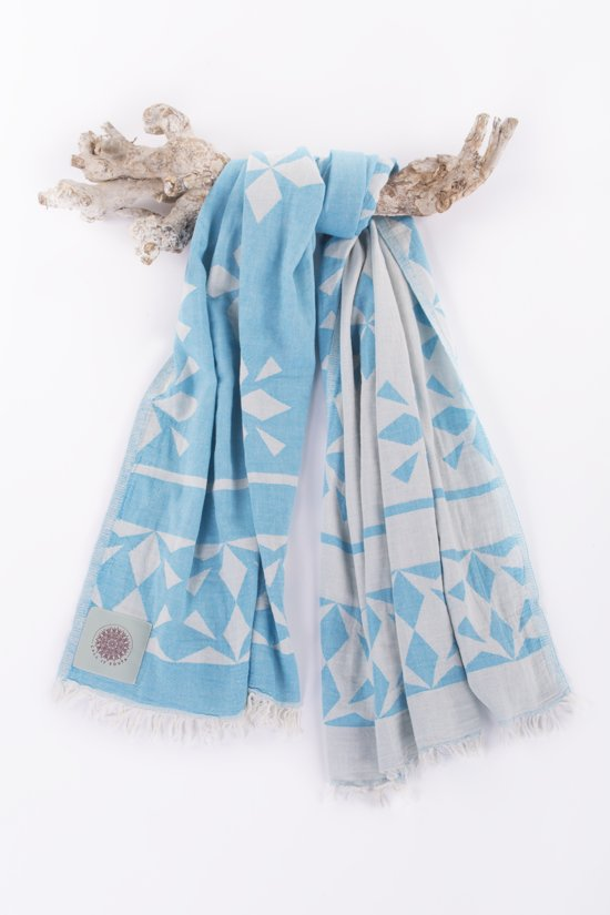 Fouta Call It.Call It Fouta Hamamdoek Fancy Turquoise 95 X 175 Cm