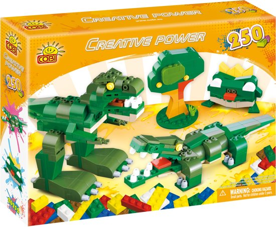 Cobi - Creative power - Groene dieren