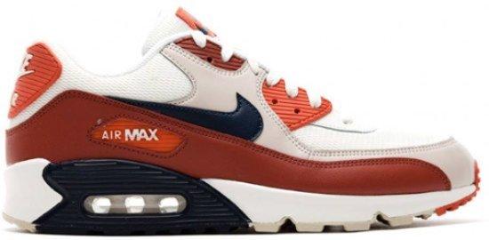 50e7323379 bol.com | Nike Air Max 90 Essential Mars Stone AJ1285-600 Wit Rood ...