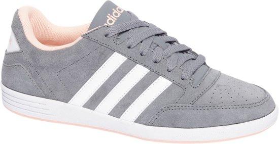 adidas Hoops Mid 2.0 I Sneakers Maat 23 Unisex grijswitrood
