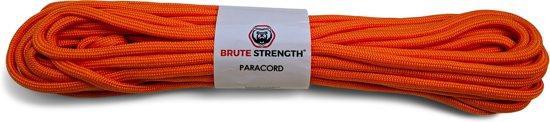Paracord - Touw - 6 mm - 15 meter - Oranje- Vismagneet touw - Magneetvissen touw- 400 kg trekkracht