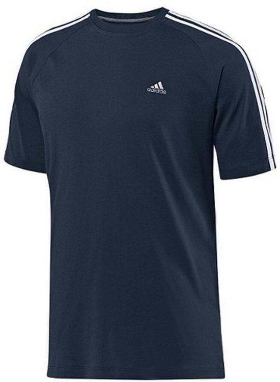 2f6c99cc530 bol.com | Adidas CR Ess 3S Crew Tee E18045, Heren, t-shirt, maat: L