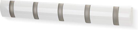 Umbra Flip 5 Kapstok - 50.8x7.6cm - wit