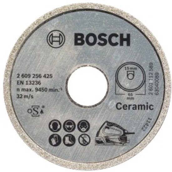 Bosch Diamant zaagblad  Ø65x15mm - Voor PKS 16 Multi