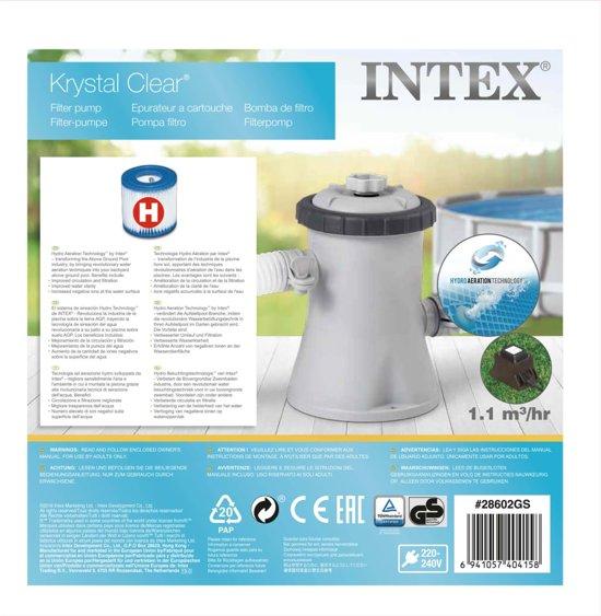 Intex Cartridge filterpomp 1250 L/u 28602GS