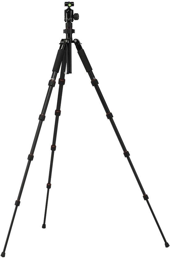 Rollei Compact Traveler No.1 Digitaal/filmcamera Zwart tripod (max 5kg)