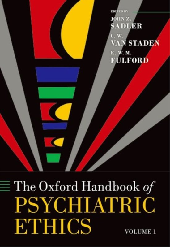 The Oxford Handbook of Psychiatric Ethics