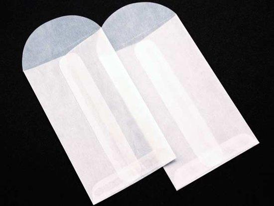 Pergamijn Zakjes Centerseal Enveloppen 6.5x11cm (100 Stuks) [G3]