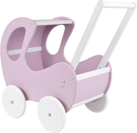 Houten poppenwagen Sweet Angel limited purple