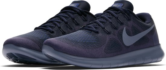 Nike Free Rn 2017 Hardloopschoenen Heren - Obsidian/Light Carbon-Neutral Indigo