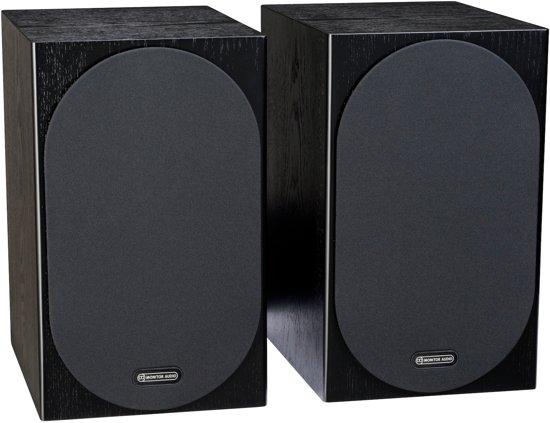Monitor Audio Silver 100 - Boekenplank Speakers - Zwart Eiken