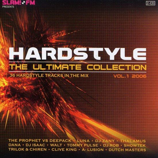 Hardstyle The Ultimate Collection Vol. 1 2006