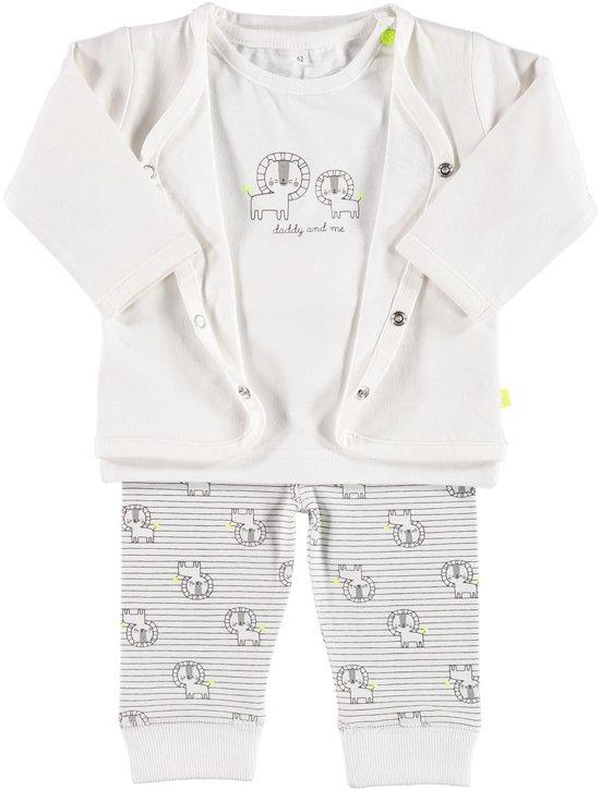Unisex Babykleding.Bol Com Zeeman Just Born Unisex Set Roomwit Maat 56