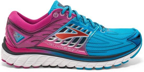 Brooks Glycerin 14  Sportschoenen - Maat 38 - Vrouwen - blauw/roze