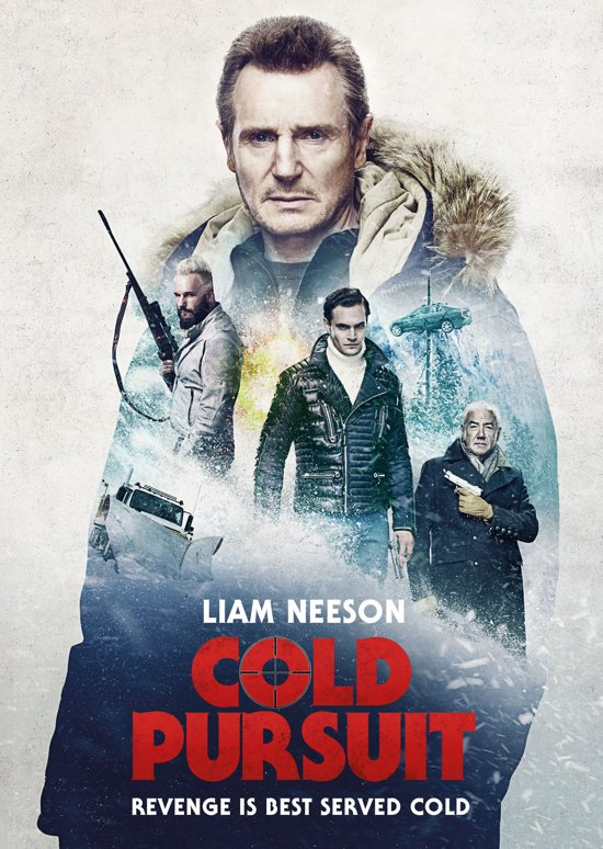 DVD cover van Cold Pursuit (Blu-ray)