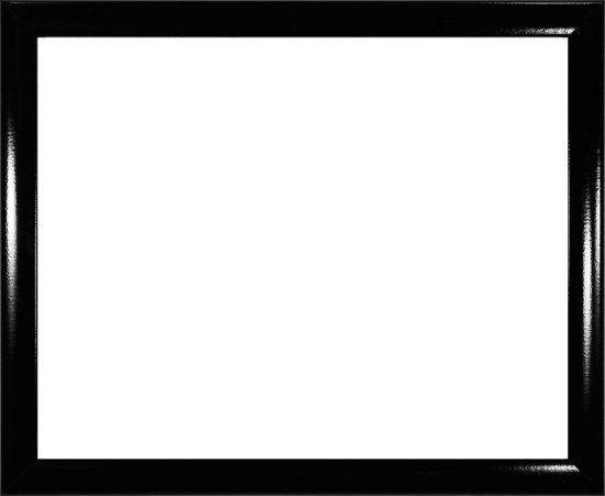 Homedecoration Colorado – Fotolijst – Fotomaat – 50 x 90 cm – Hoogglans zwart