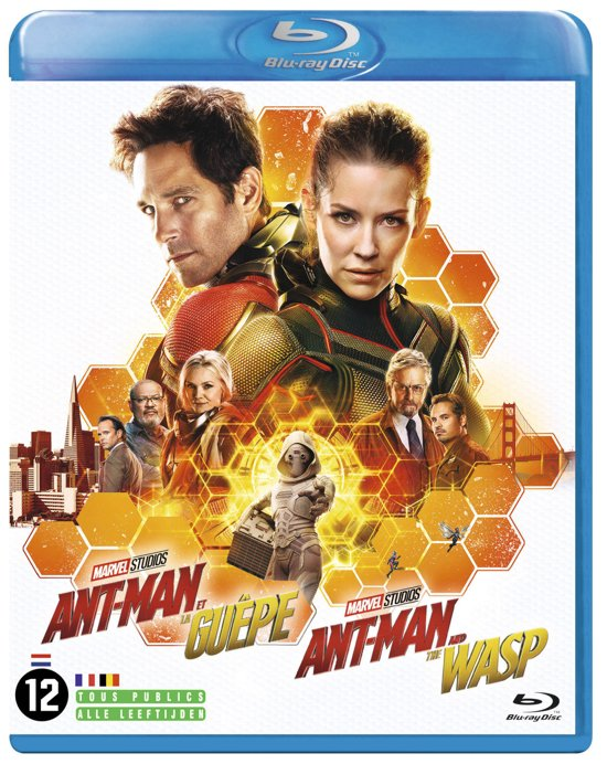 DVD cover van Ant-Man and the Wasp (Blu-ray)