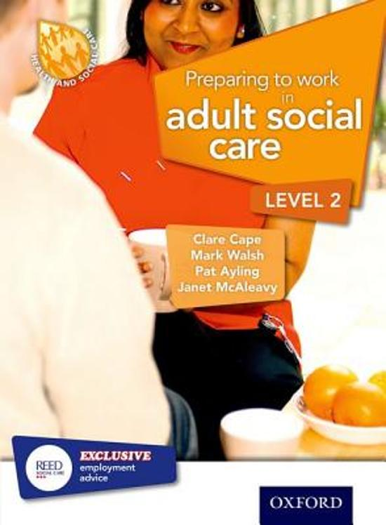 working in adult social care