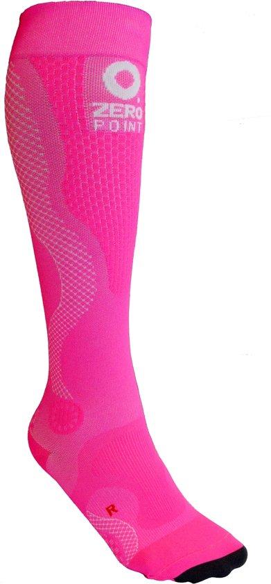 ZeroPoint compressie sokken Intense Roze - dames W1
