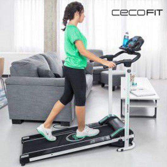 Cecofit Run Step 7009 Opvouwbare Loopband met Luidsprekers, 12 programmas, 4 instelbare snelheden, etc.