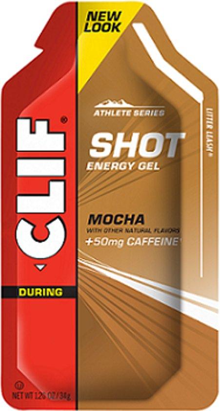 Clif bar Clif Shot Energie Gels - 1 box - Mocha (50mg Caffeine)