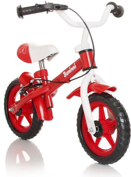 Baninni Wheely Red - Loopfiets