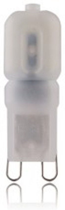 LED steeklampje - 220 Volt - 2,5 W - Koud Wit - G9 - 230 Lumen