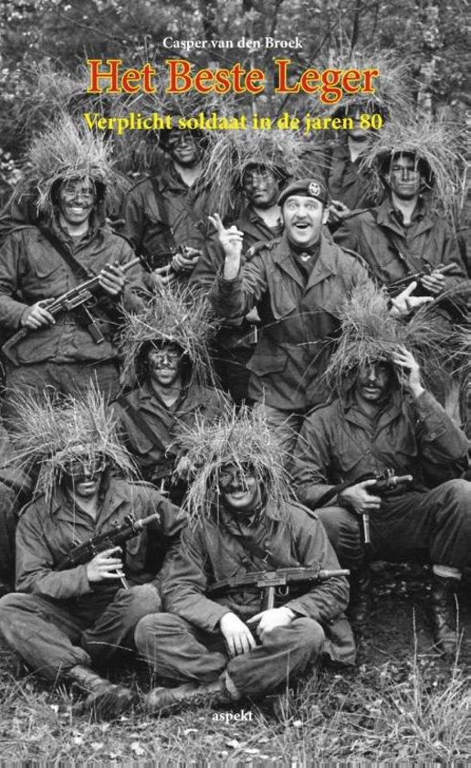 Cover van het boek 'Het beste leger' van Casper van den Broek
