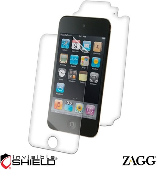 ZAGG invisibleSHIELD Full-Body Protector voor iPod Touch (4G)