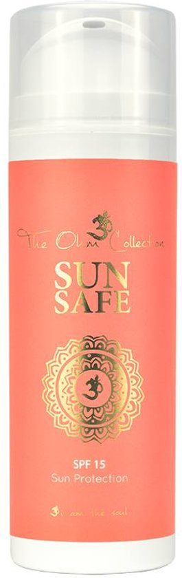 The Ohm Sun Safe Zonnebrand SPF 15 -150 ml