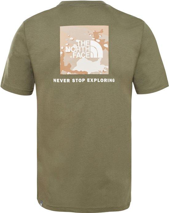 Teeeu New Taupe Face S The Tan Redbox s Heren Shirt North Kelp Green gXAg8qB