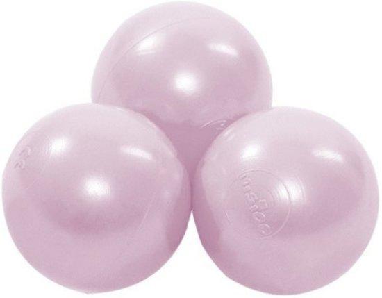 Misioo Extra set ballen, 50 stuks | Baby Pink Pearl