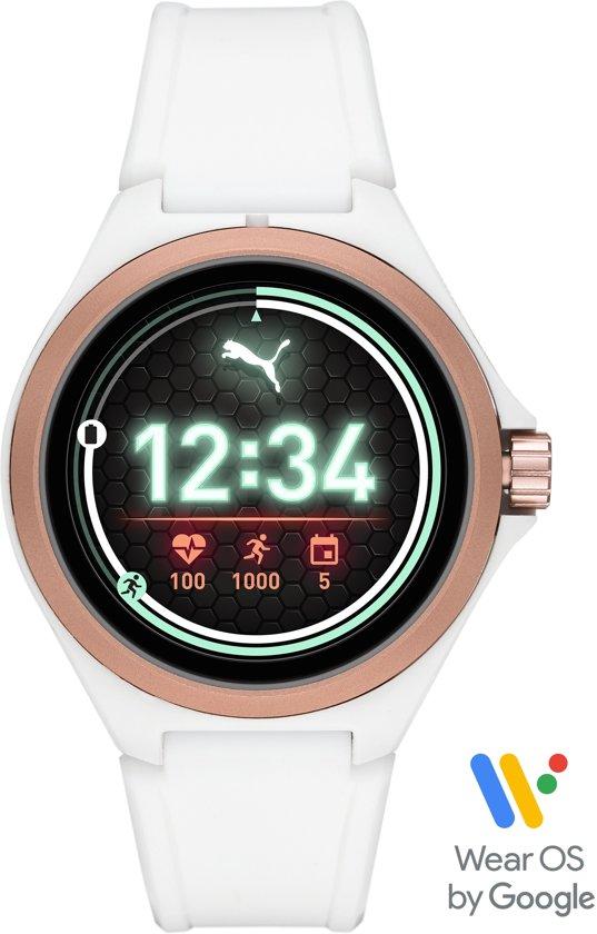 Puma Gen 4S Display Smartwatch PT9102 - Wit